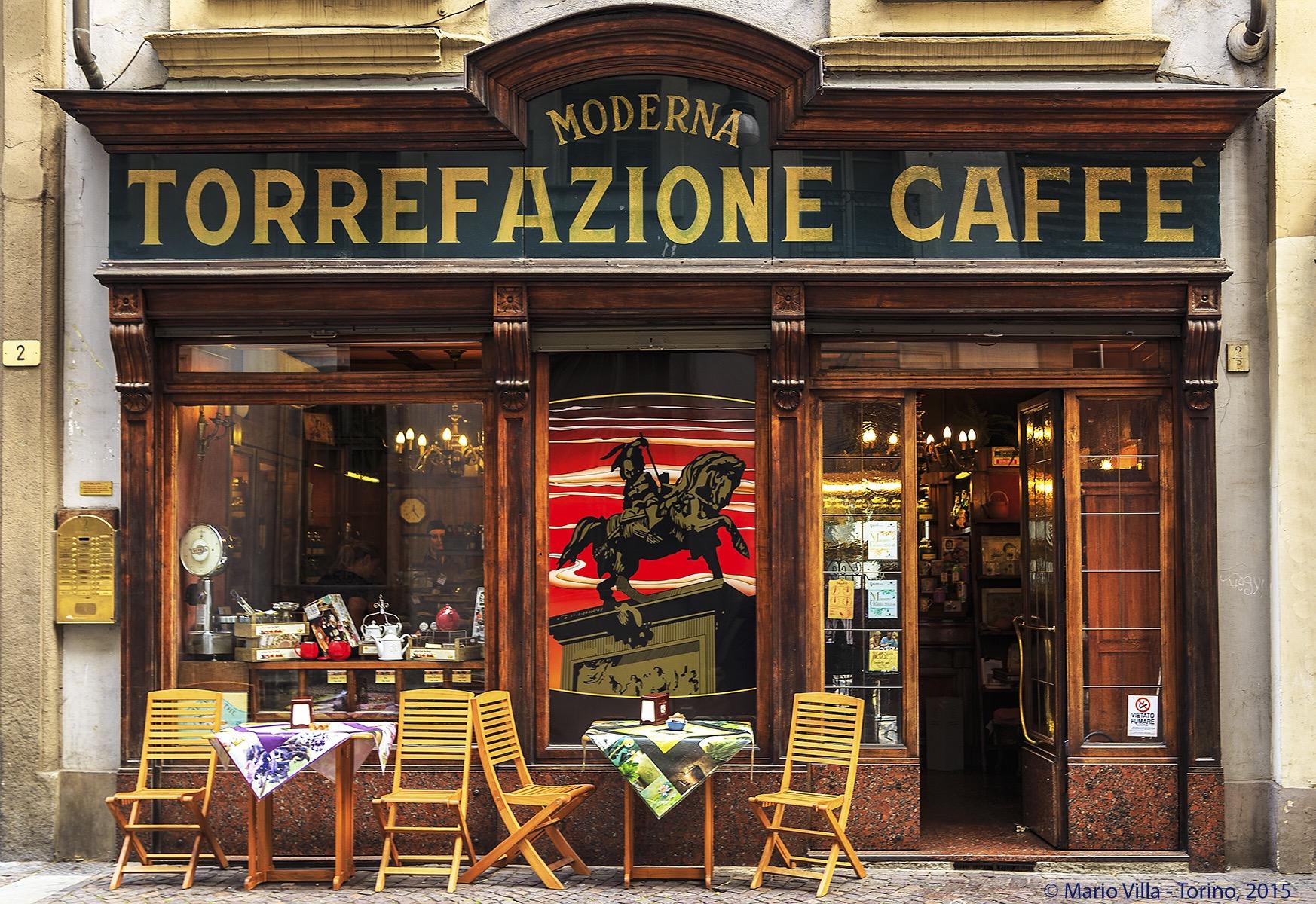 The tea torrefazione moderna turismo torino e provincia for Negozi di arredamento torino