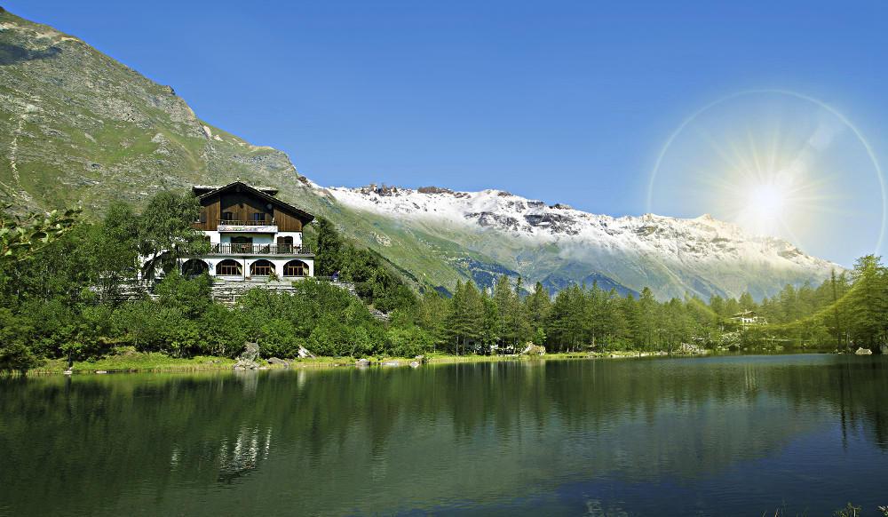 chalet sul lago turismo torino e provincia