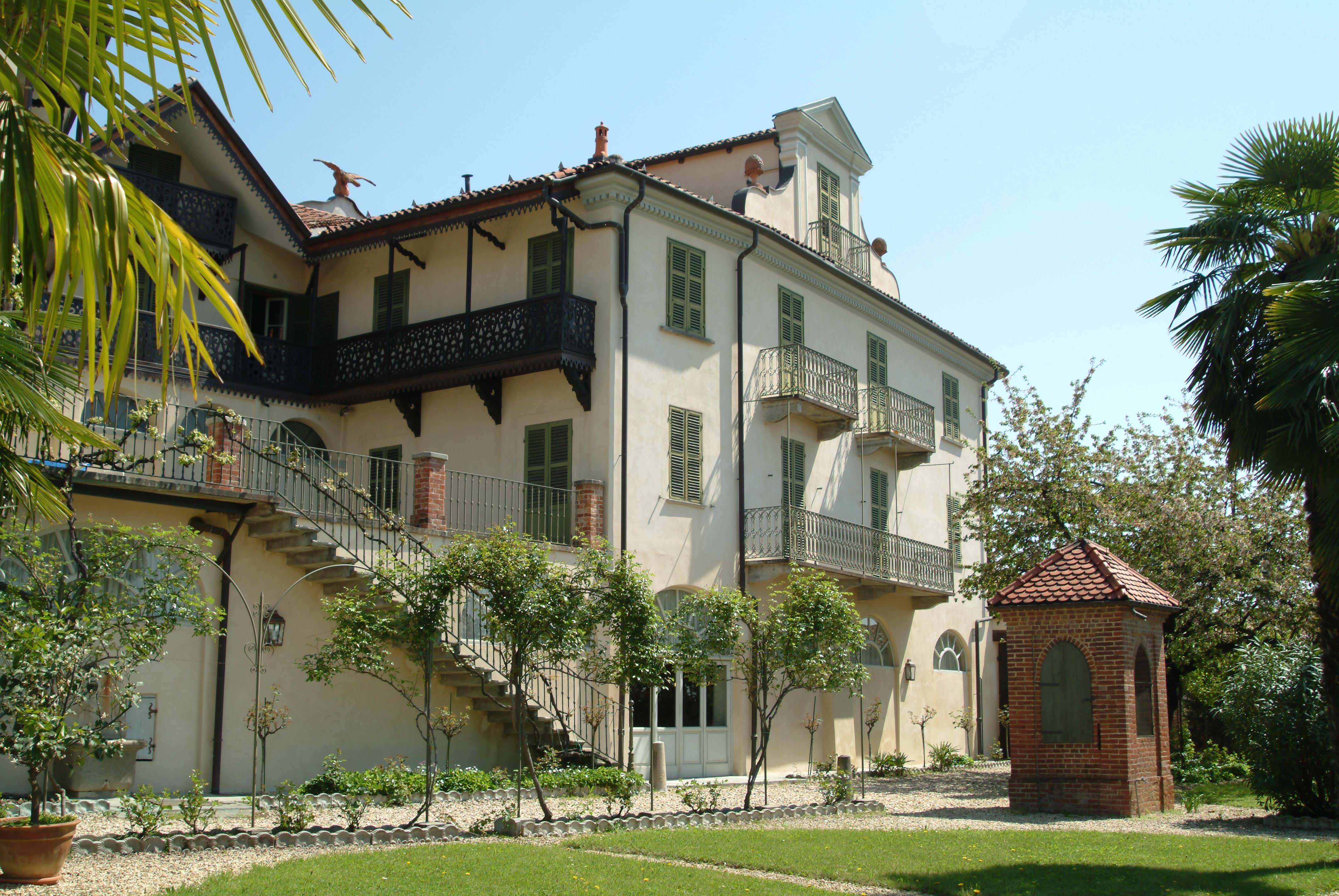 Dimora storica e giardini casa zuccala di marentino turismo torino e provincia - Giardini di casa ...