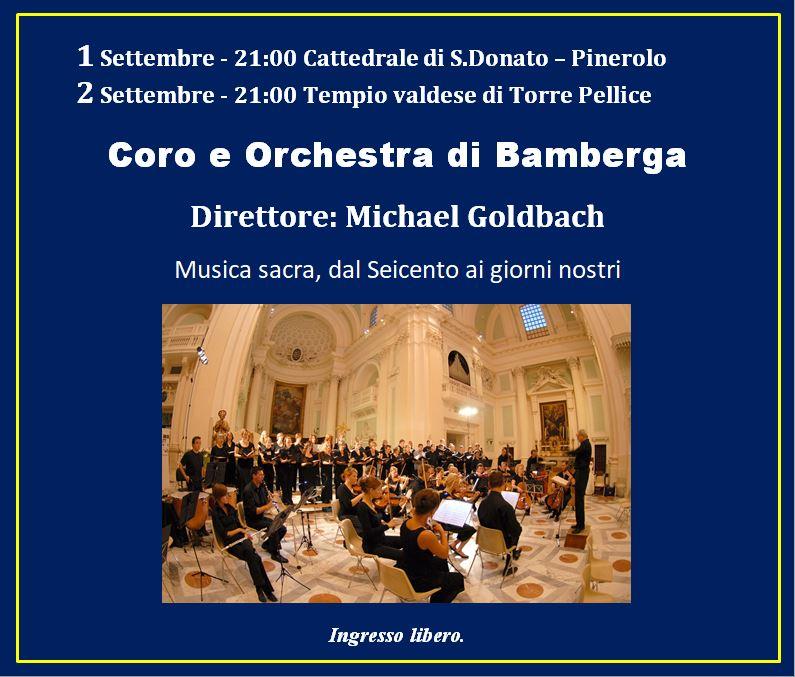 CORO E ORCHESTRA DI BAMBERGA