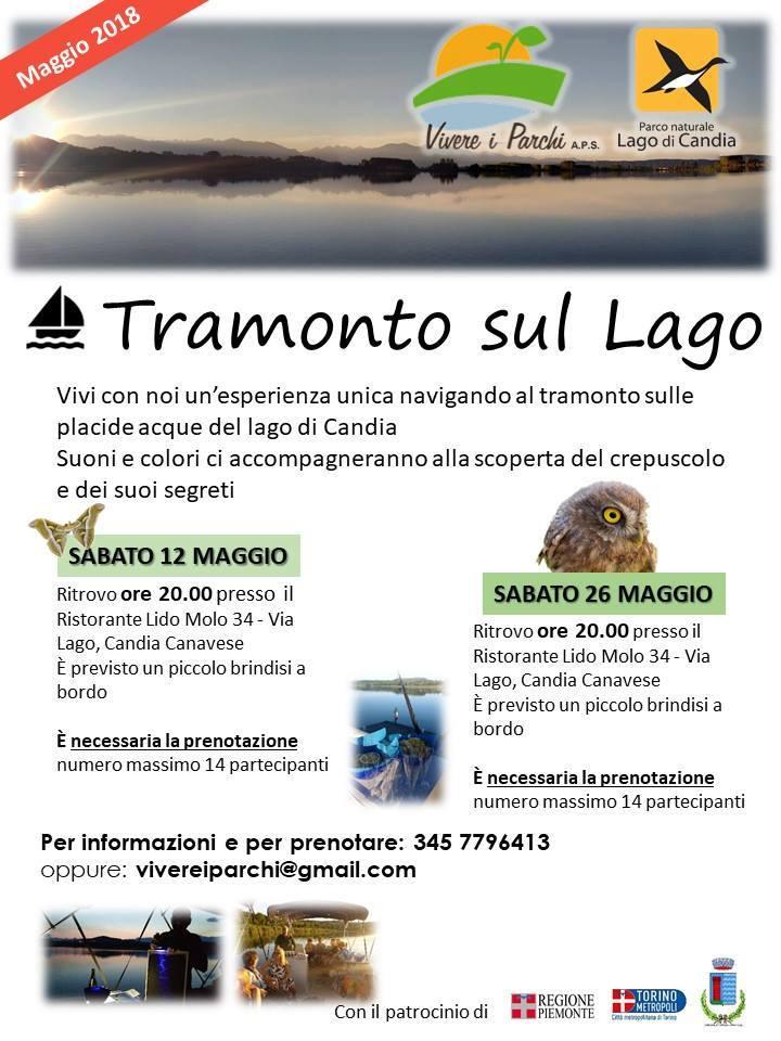 Candia_tramonto_lago
