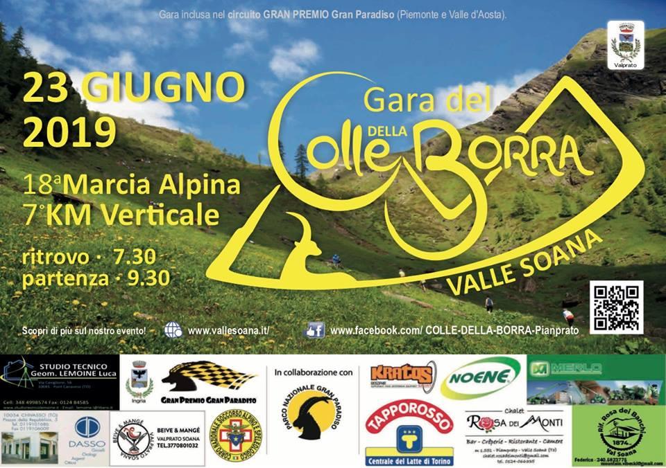 18ª MARCIA ALPINA PIAMPRATO COLLE DELLA BORRA E 7° KM VERTICALE