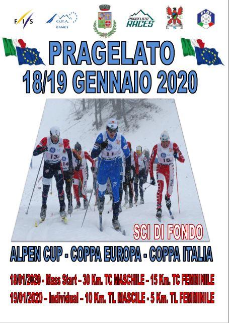 ALPEN CUP - COPPA EUROPA - COPPA ITALIA - SCI DI FONDO