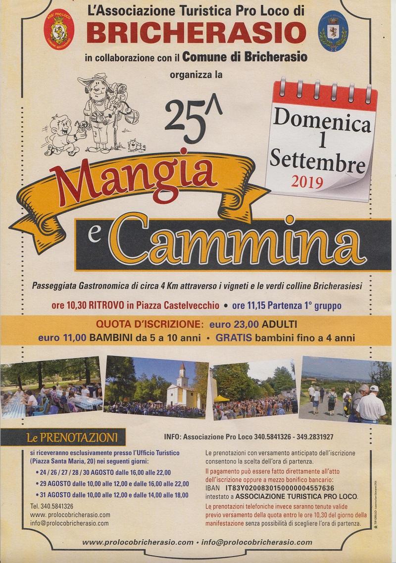 25° MANGIA E CAMMINA